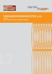 Formandsoverenskomsten 2012 - Dansk Formands Forening