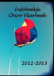 infoboekje 2012-2013 (pdf) - Chiro Vlierbeek