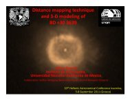 Distance mapping and the 3D structure of BD +30 3639 - Hellenic ...