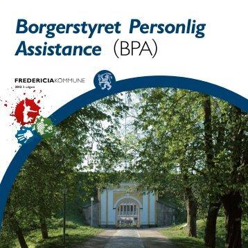 Borgerstyret Personlig Assistance (BPA) - Fredericia Kommune