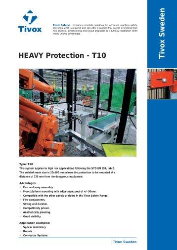 Tivox Sweden HEAVY Protection - T10