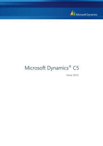 Microsoft Dynamics® C5