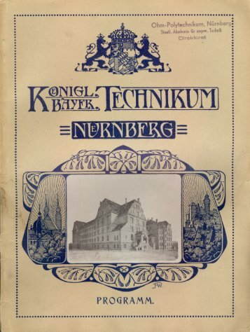 Programm - Georg-Simon-Ohm-Hochschule Nürnberg