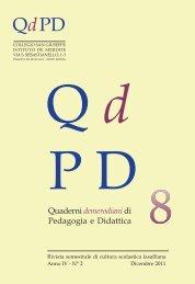 qdpd n 8.pdf - Collegio San Giuseppe - Istituto De Merode