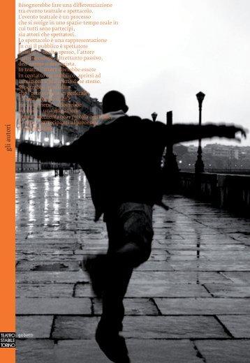gli a utori gli a utori - Teatro Stabile di Torino