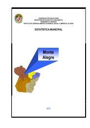 Monte Alegre - Governo do Estado do Pará