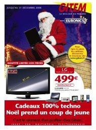 Cadeaux 100% Techno Noël Prend Un Coup De ... - GITEM Bergerac