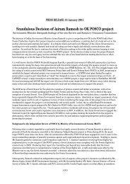 Scandalous Decision of Jairam Ramesh to OK POSCO project