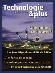 Technologie & Plus n°1 2008 - geotopo