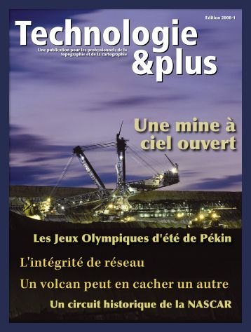 Technologie & Plus n°1 2008 - geotopo