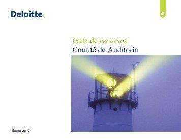 Guía de recursos Comité de Auditoría