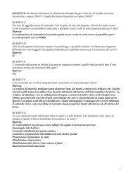[26k] Domande e Risposte - FNM