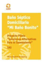 """Baño Séptico Domiciliario """"Mi Baño Bonito"""" - CARE Perú"""