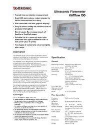 Ultrasonic Flowmeter KATflow 150