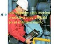 ultrasonidos para el mantenimiento - Universidad de Talca