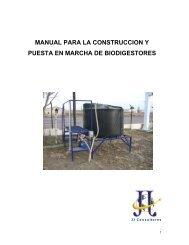 manual para la construccion y puesta en marcha de ... - COFUPRO