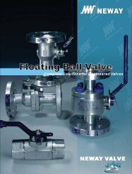 JAG/NEWAY Floating Ball Valves - 2009 - Flow Control Products