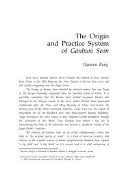 The Origin and Practice System of Ganhwa Seon - Buddhism.org