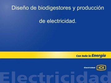 Curso de biodigestores ICE - InfoAgro