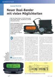 TM D710E TEST - Kenwood