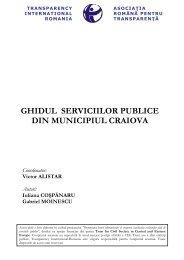 ghidul serviciilor publice din municipiul craiova - Transparency ...