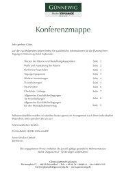 Vollständige Konferenzmappe zum Download. - bei den Günnewig ...