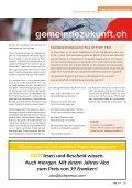 «Die Schweiz steht im internationalen Vergleich sehr gut da» - Page 3