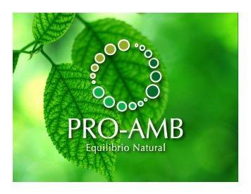 PRESENTACIÓN INSTITUCIONAL PRO-AMB