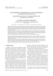 mechanisms of hf bonding in dry scrubber in aluminium electrolysis