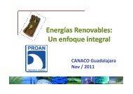 Energías Renovables: U n enfoque integral