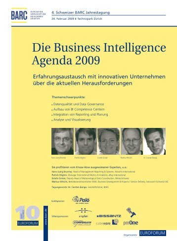Die Business Intelligence Agenda 2009