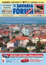 2 - Savaria Fórum