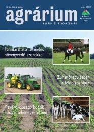agrárium - Szaktudás Kiadó