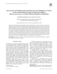 influence of temperature and abscisic and gibberellic acids on ...