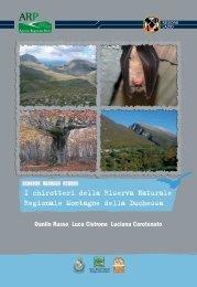 """La Riserva Naturale Regionale """"Montagne della Duchessa"""""""