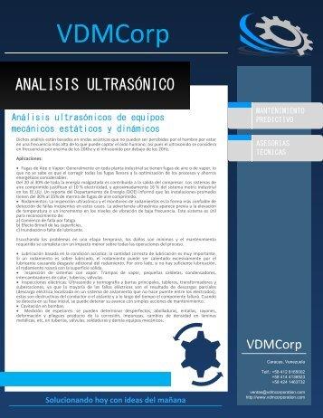 ANALISIS ULTRASÓNICO - VDM Corp