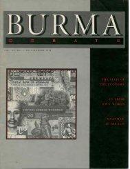 Vol. III, No. 4, July/August 1996 - Online Burma/Myanmar Library