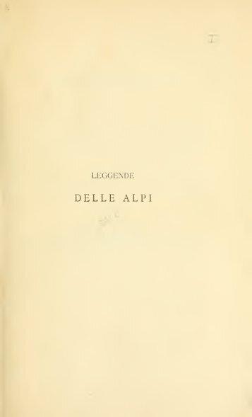 Leggende delle Alpi - Centrostudirpinia.It