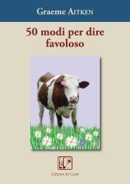 50 modi per dire favoloso - Edizioni del Cardo