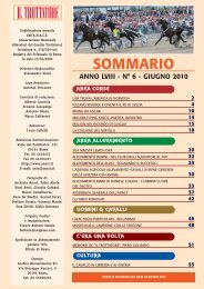 Il Trottatore Giugno 2010 - Associazione Nazionale Allevatori del ...