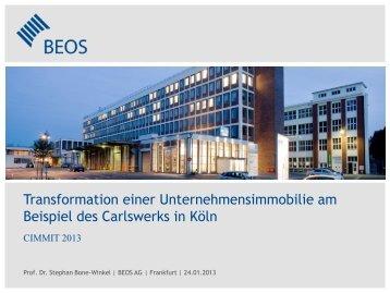 Transformation einer Unternehmensimmobilie am Beispiel ... - BEOS