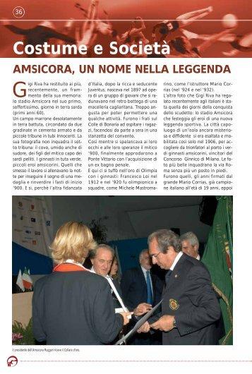 Costume e Società - Federazione Ginnastica d'Italia