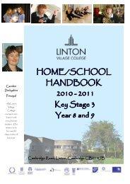 staff handbook - Linton Village College