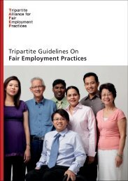 Tripartite Guidelines on Fair Employment Practices