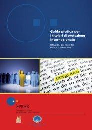 Guida pratica per i titolari di protezione internazionale