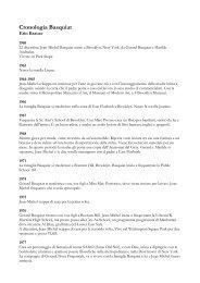 Leggi la Biografia in cronologia - Artelab