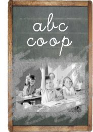 Scarica la brochure A,B,C COOP - Coopsanbernardino.It
