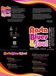 8-9-15-16-17 luglio Area Spettacoli StA - Comune di Aosta