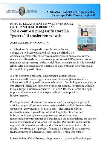 """Pro o contro il pirogassificatore La """"guerra"""" si trasferisce sul web"""