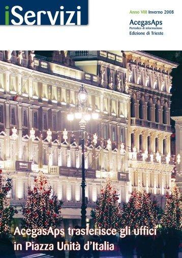 AcegasAps trasferisce gli uffici in Piazza Unità d'Italia
